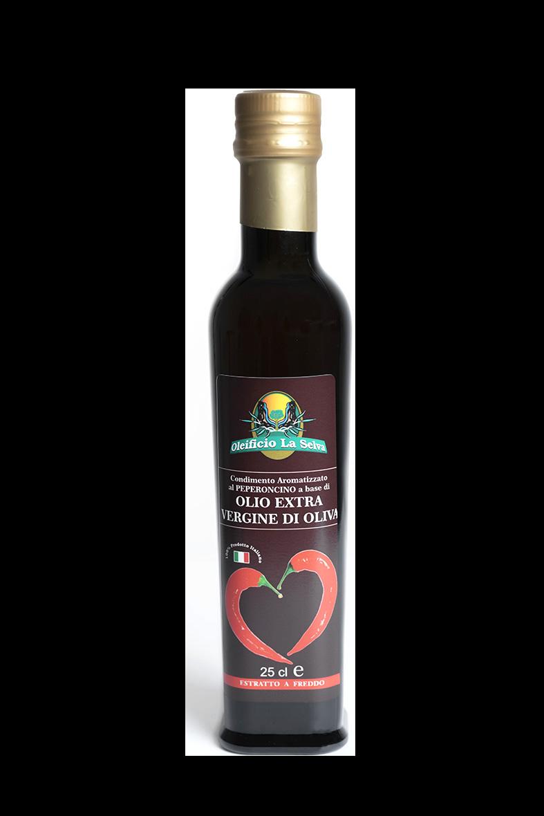 EVO aromatizzato<br>aglio e peperoncino